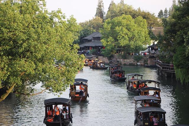 アジアのヴェネチアと呼ばれる「烏鎮」