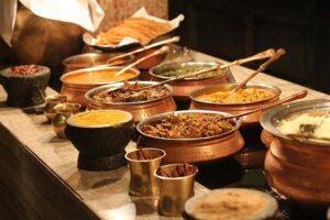 インド料理の「ビュッフェ形式」
