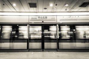 最寄りの「中山北路駅」