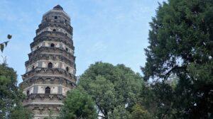 蘇州の「虎丘塔」