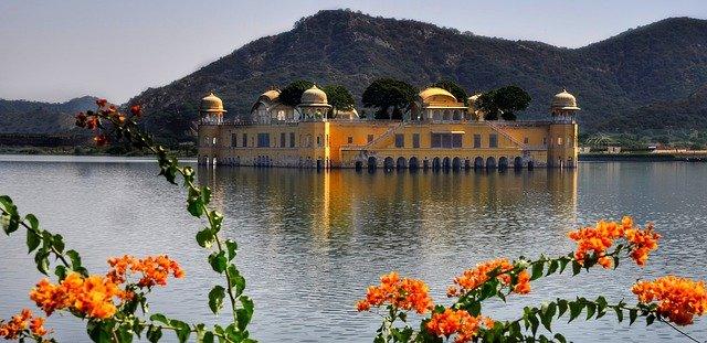 水の宮殿:Jal Mahal
