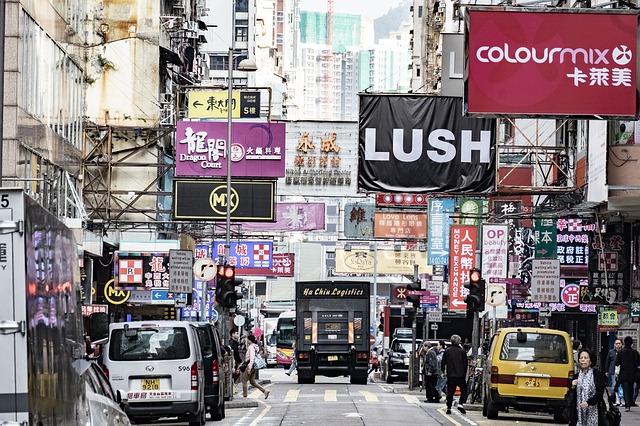 日本語堪能な店員さんがいる九龍城地区の「LUSH」