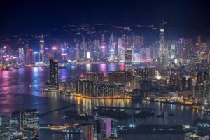 世界三大夜景に数えられる「香港の夜景」