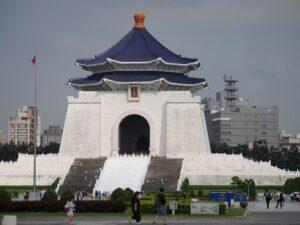 70mの高さを誇る「中正記念堂」