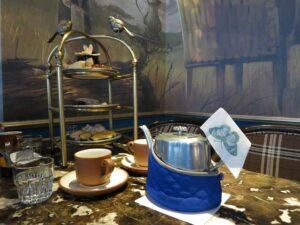 審計新村と綠光計畫のレトロなカフェ