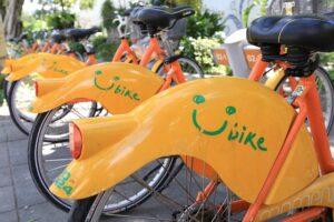台北のレンタル自転車「YouBike:微笑單車」