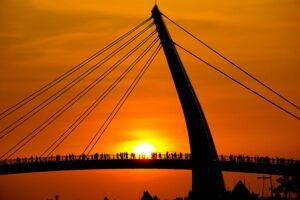 台湾で一番美しい夕陽スポット「情人橋:Lover's Bridge」