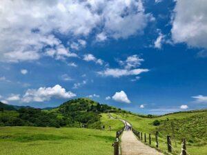 陽明山国家公園のハイキングコース