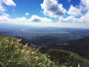 陽明山国家公園からの眺望