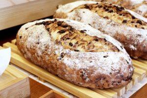 屋台のパン