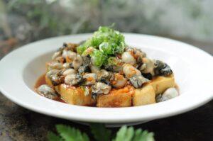 牡蠣&臭豆腐