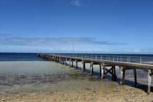ヨーク半島の桟橋