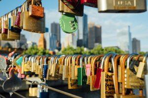 メルボルンの愛の南京錠