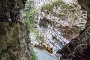 太魯閣国家公園にある太魯閣渓谷