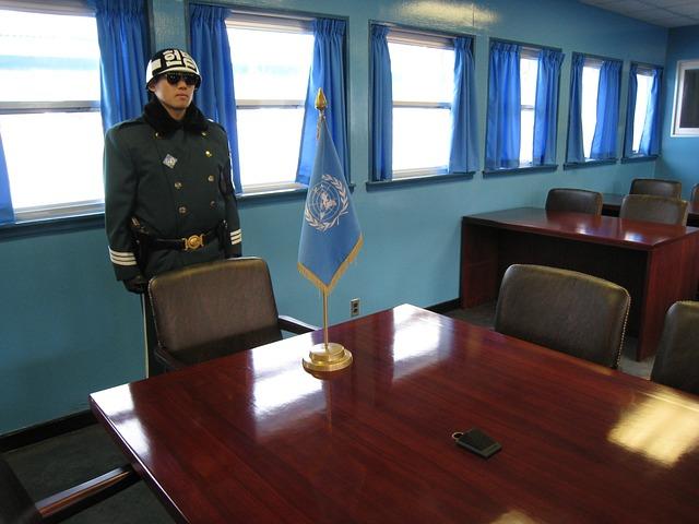 韓国と北朝鮮の軍事境界線