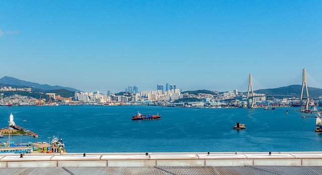 韓国第2の都市「釜山」の港