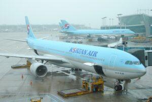 韓国の玄関口「仁川国際空港」の大韓航空