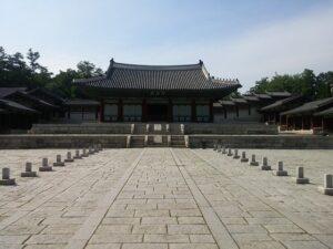 慶熙宮の聖堂「崇政殿」