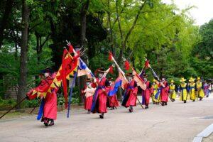 徳寿宮の交代儀式