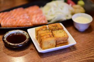 食パンの天ぷら