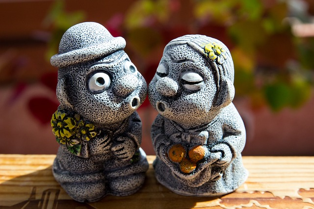 済州島土産の定番「トルハルバン」の石人形